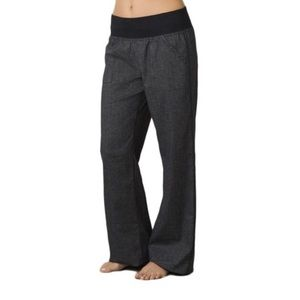 PrAna Mantra Grey Pant Sz Medium